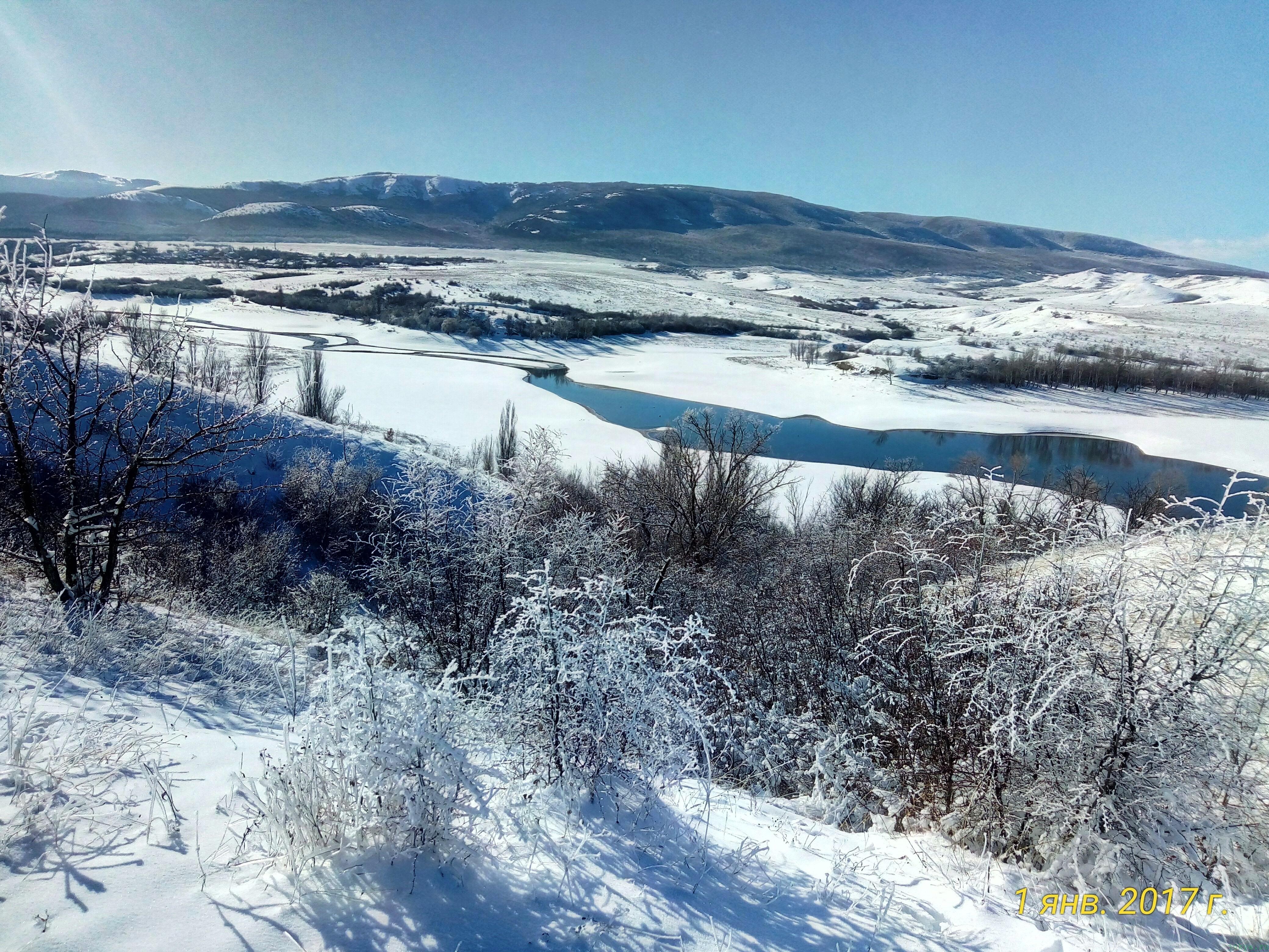1 января 2017 года в Крыму фото заметка из моей реальности в Крыму jokya.ru