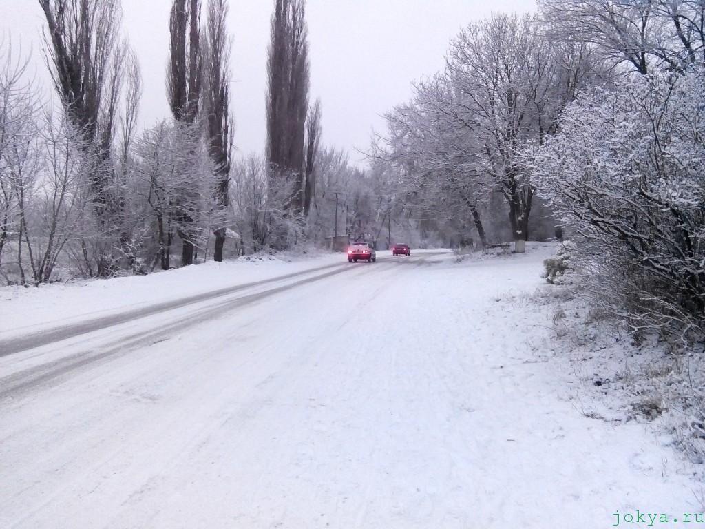 Белогорск: зима и снова снег фото сюжет jokya.ru