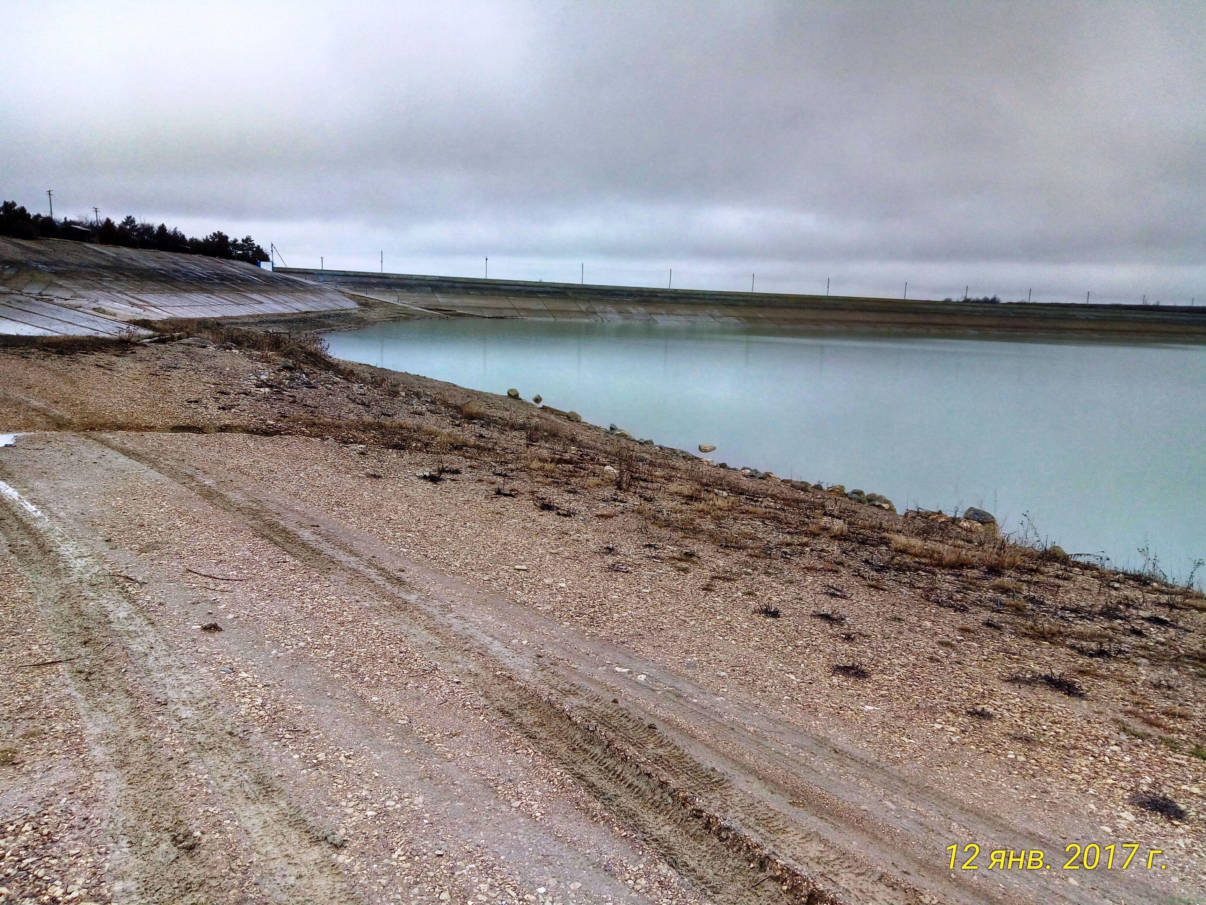 Белогорское водохранилище Крым: уровень воды на сегодня фото заметка моей реальности в Крыму jokya.ru