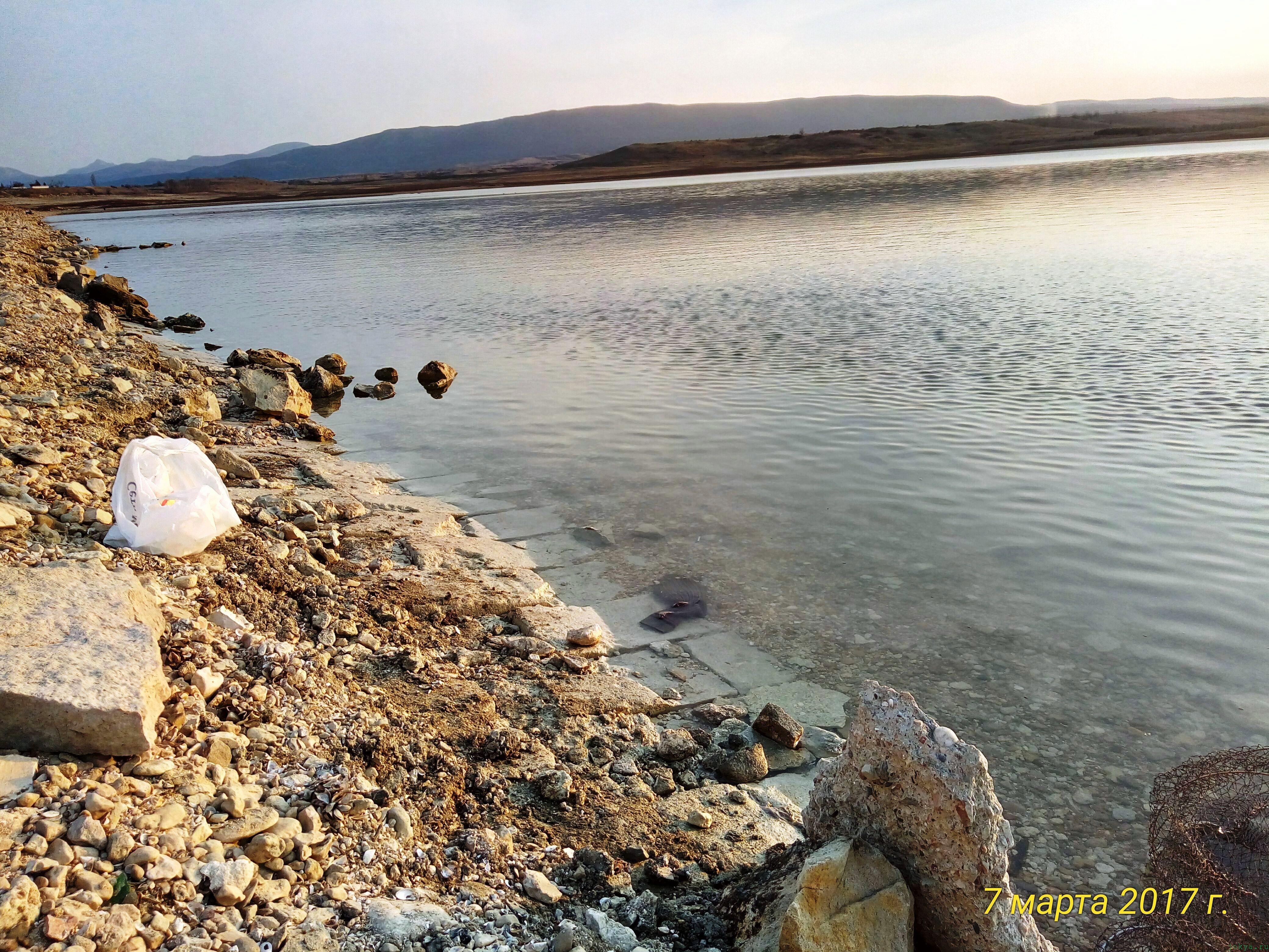Белогорское водохранилище Тайган фото заметка о моей реальности в Крыму jokya.ru