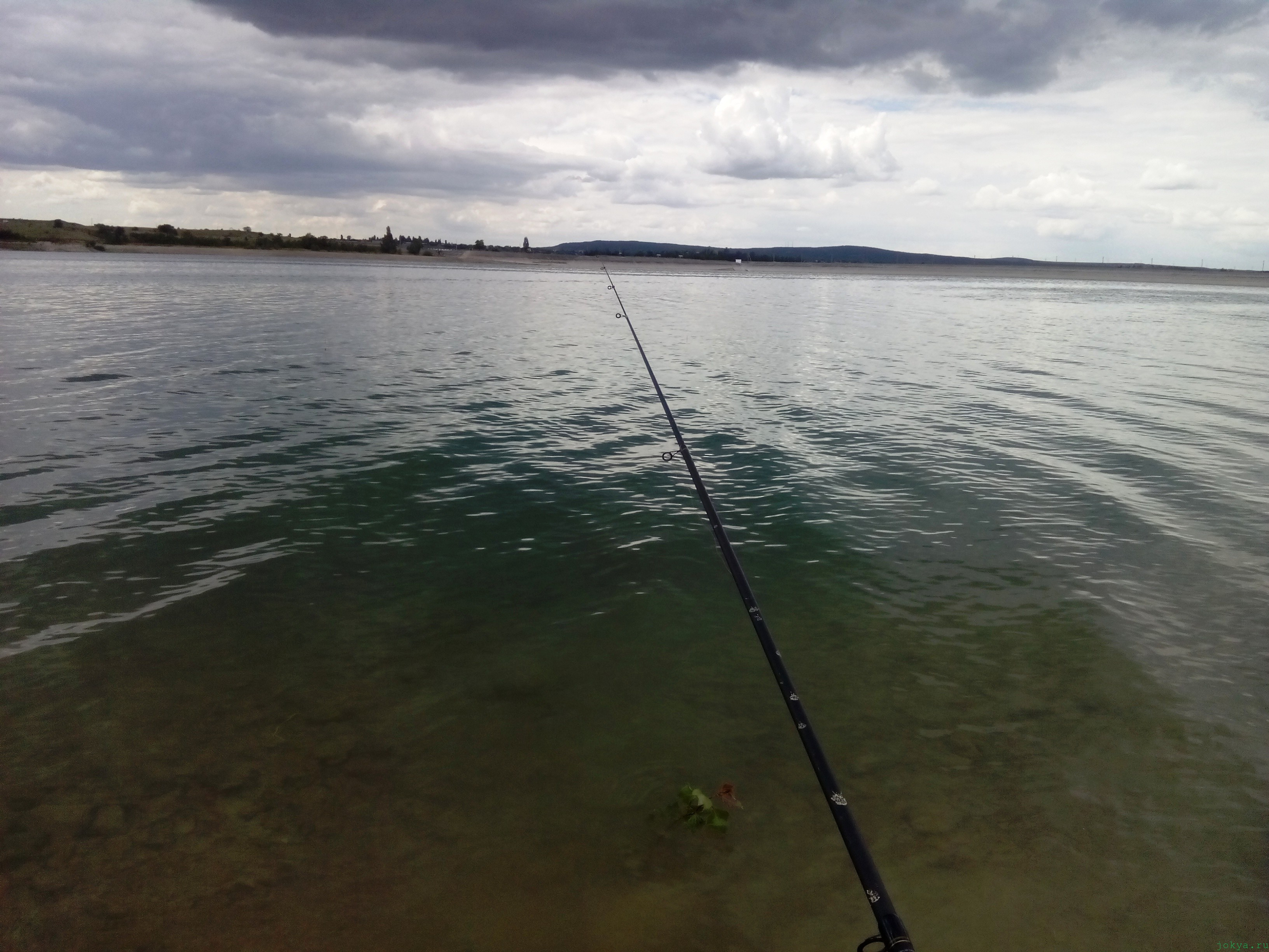Белогорское водохранилище: кемпинг, отдых, рыбалка фото заметка о Крыме jokya.ru