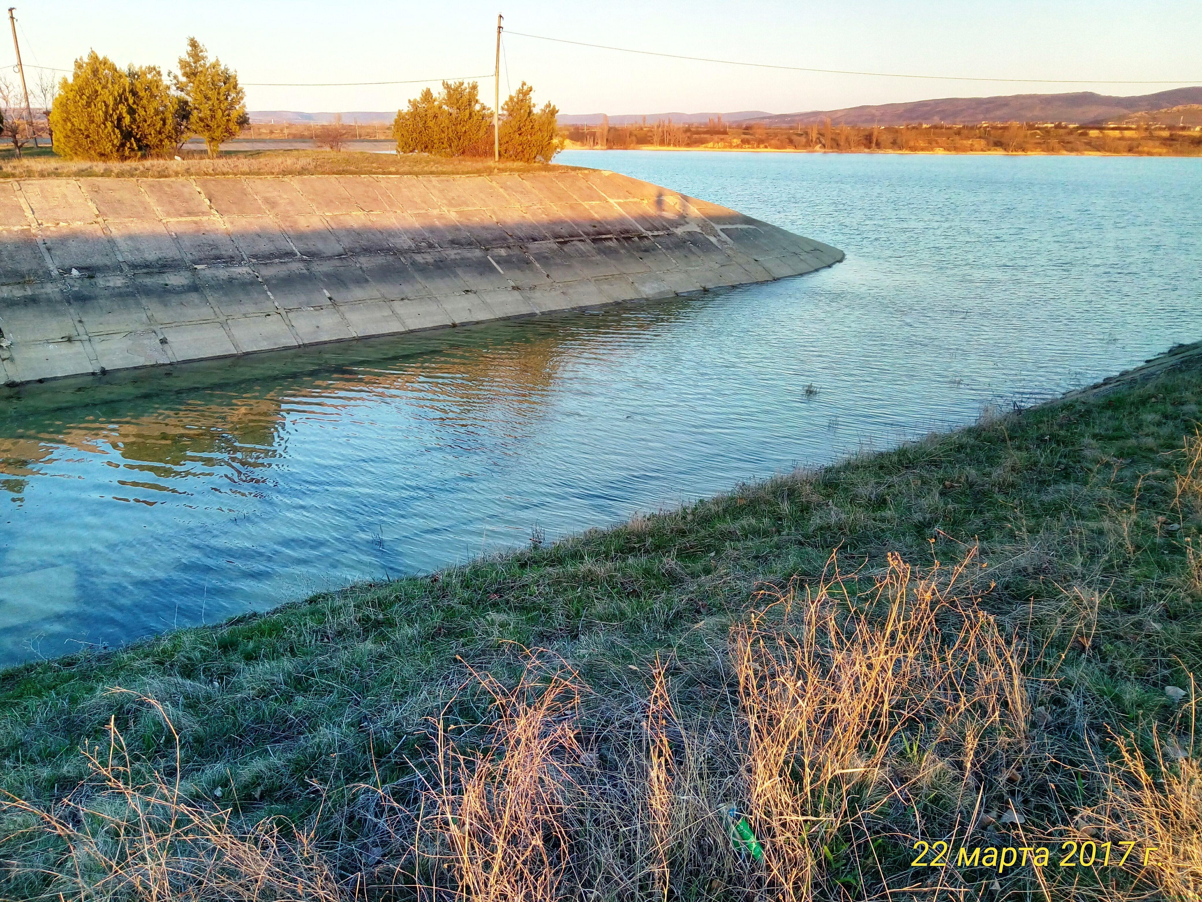 Белогорское водохранилище на сегодня фото заметка о моей реальности в Крыму jokya.ru