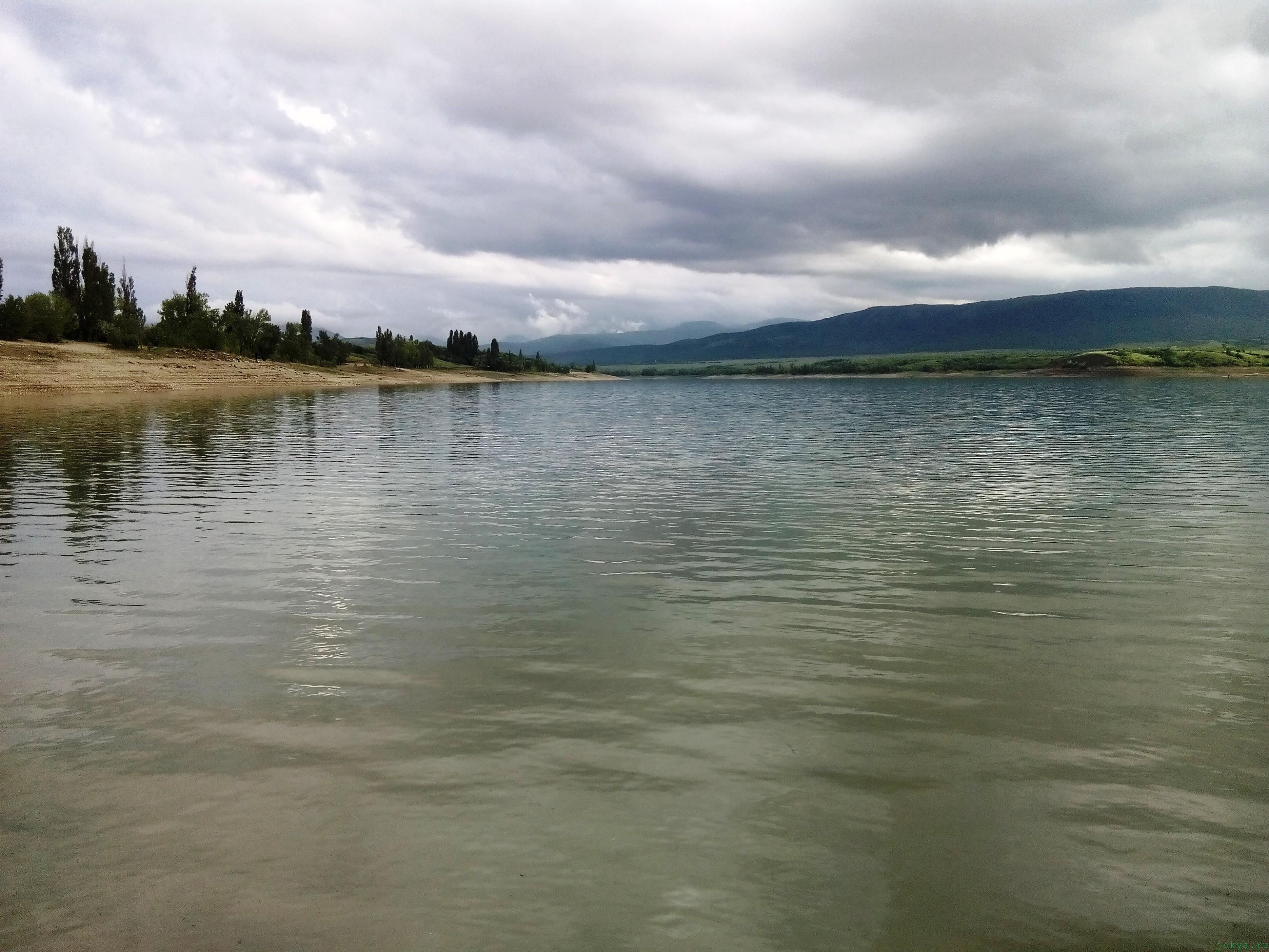 Белогорское водохранилище: сколько воды сейчас фото заметка о Крыме jokya.ru