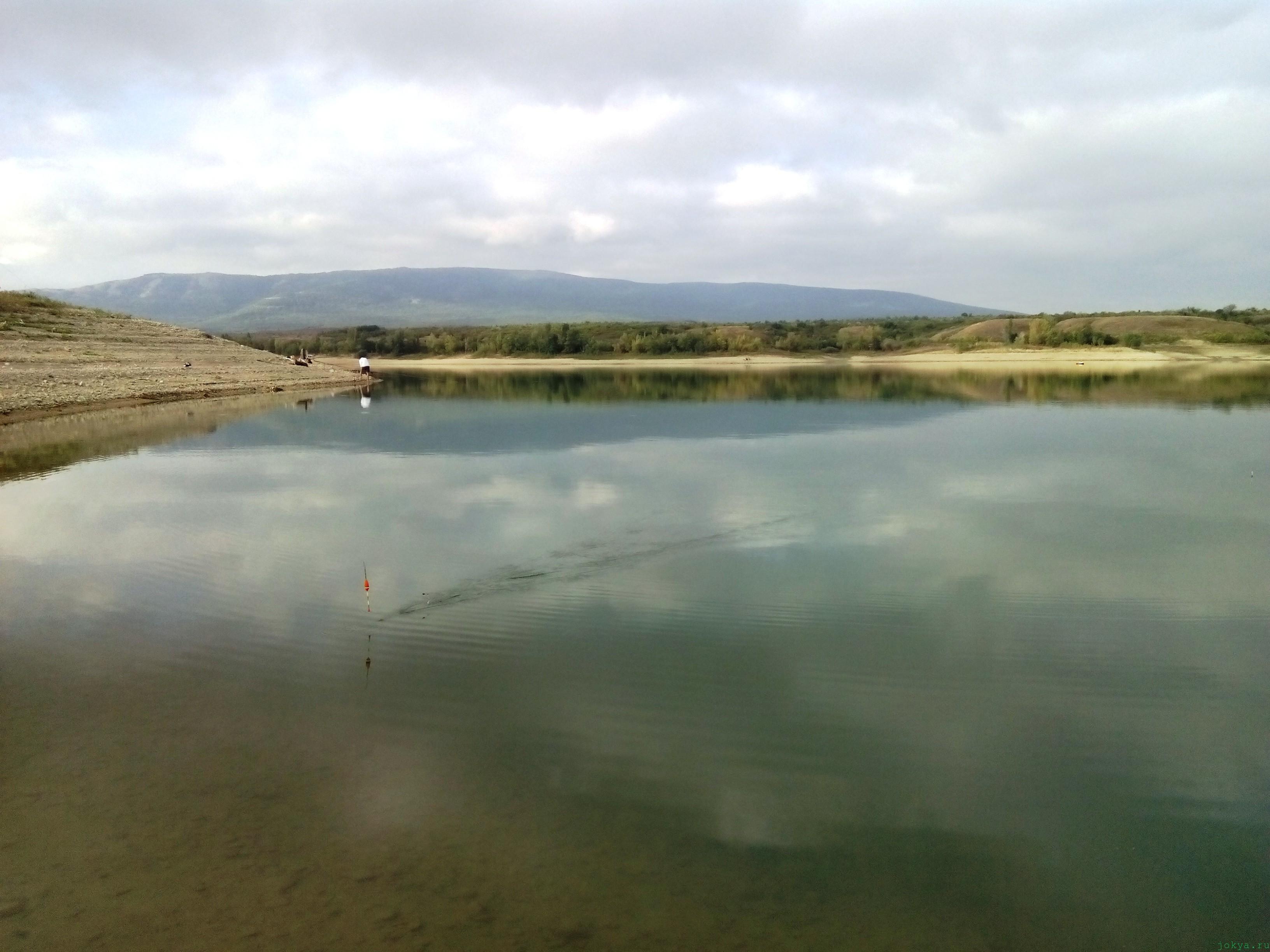 Белогорское водохранилище: состояния уровня воды фото заметка о Крыме jokya.ru
