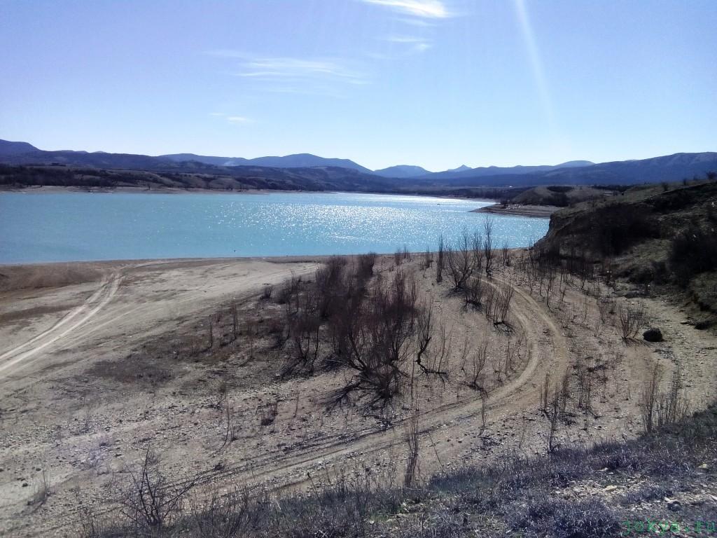 Белогорское водохранилище: в середине марта фото заметка о Крыму jokya.ru