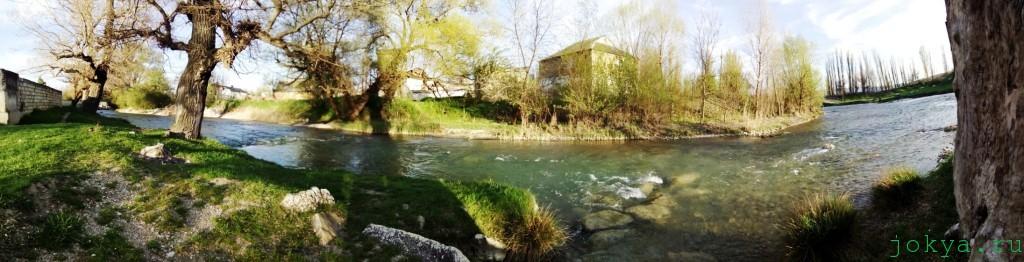 Биюк-Карасу: пейзажи реки в Белогорске фото сюжет jokya.ru