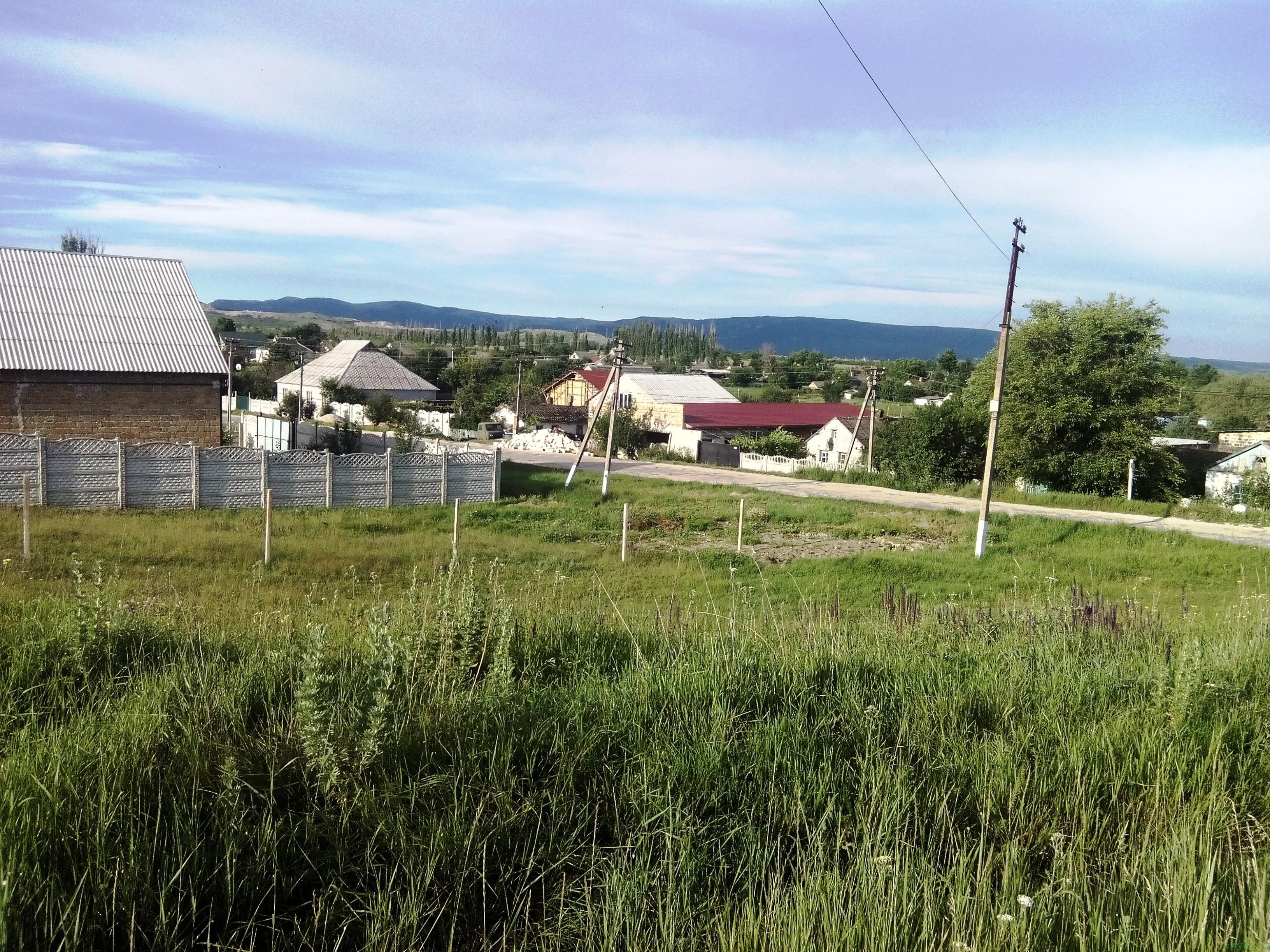 Дорога через село Чернополье утром фото заметка о Крыме jokya.ru