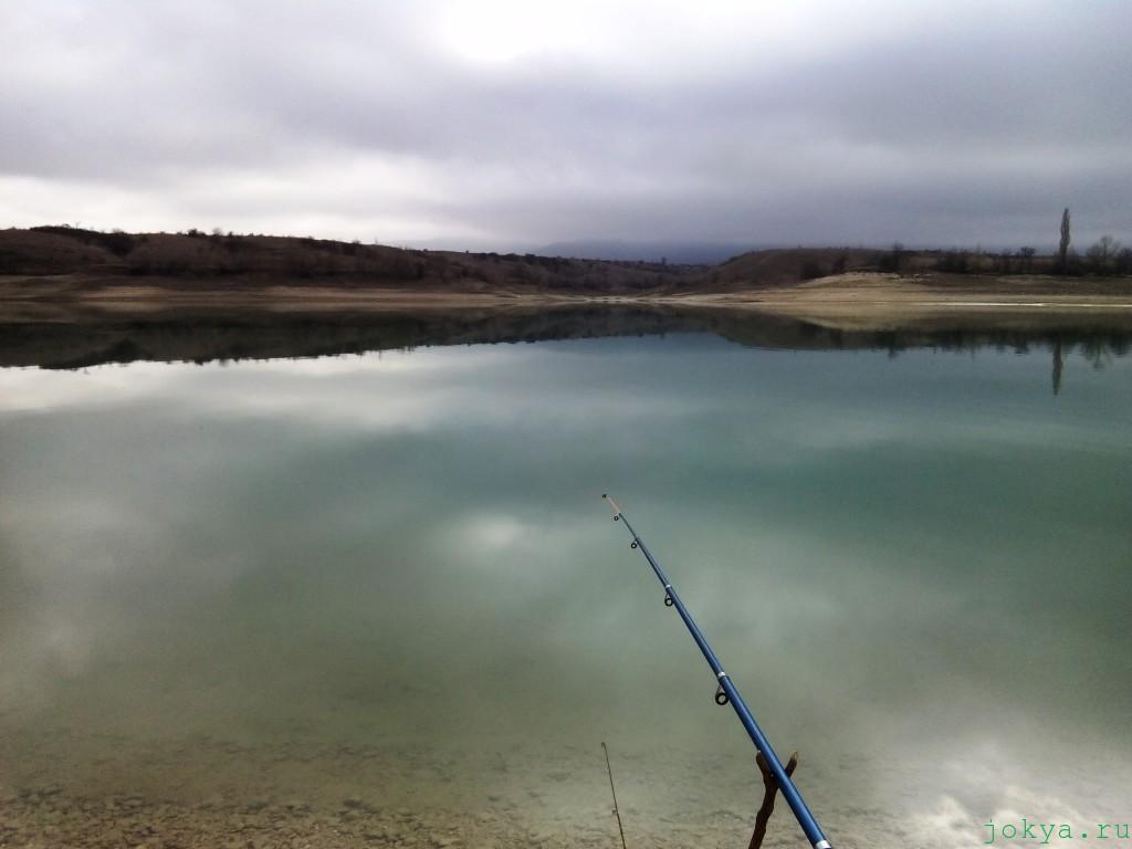 Дорога на Белогорское водохранилище на рыбалку фото заметка о Крыме jokya.ru