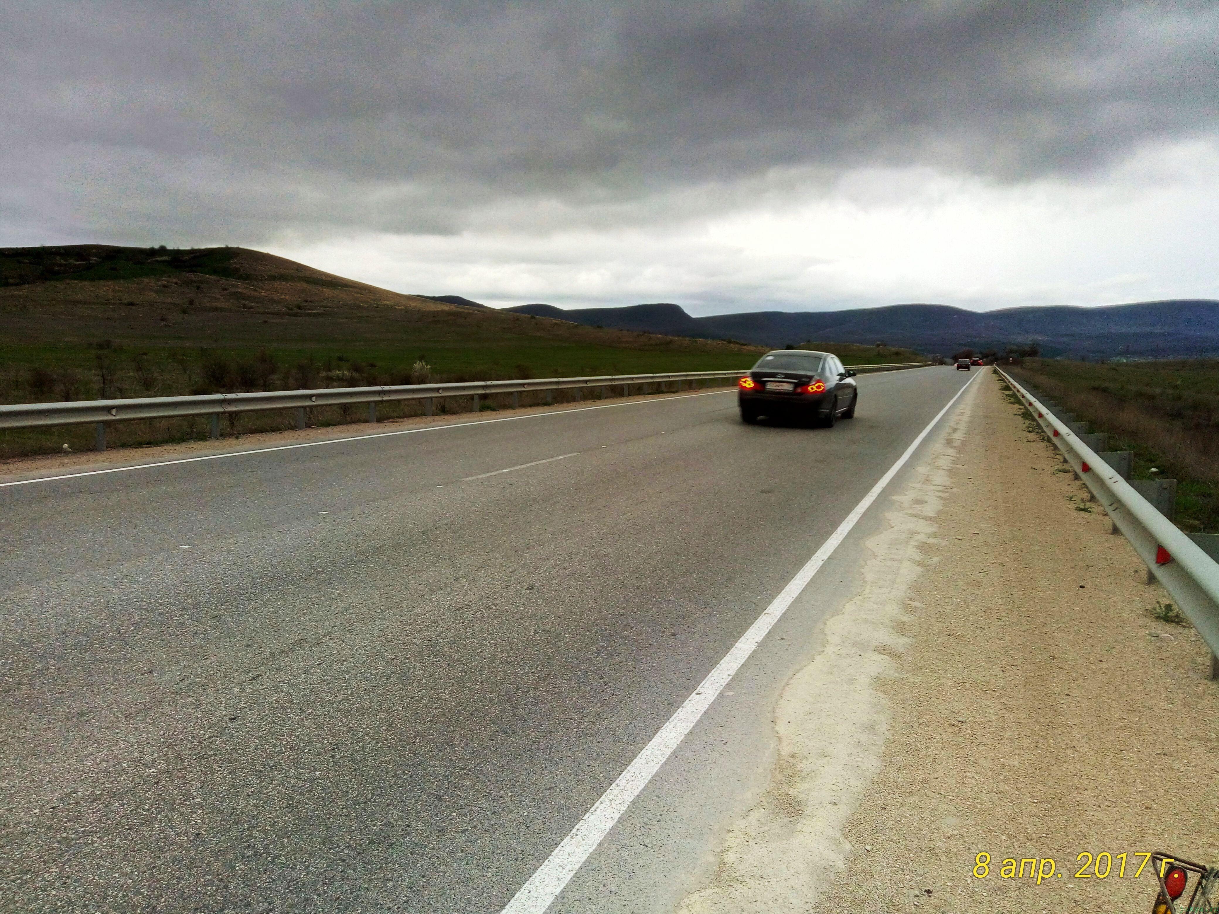 Как уехать с трассы до села Богатое с Белогорска: фото заметка о моей реальности в Крыму jokya.ru
