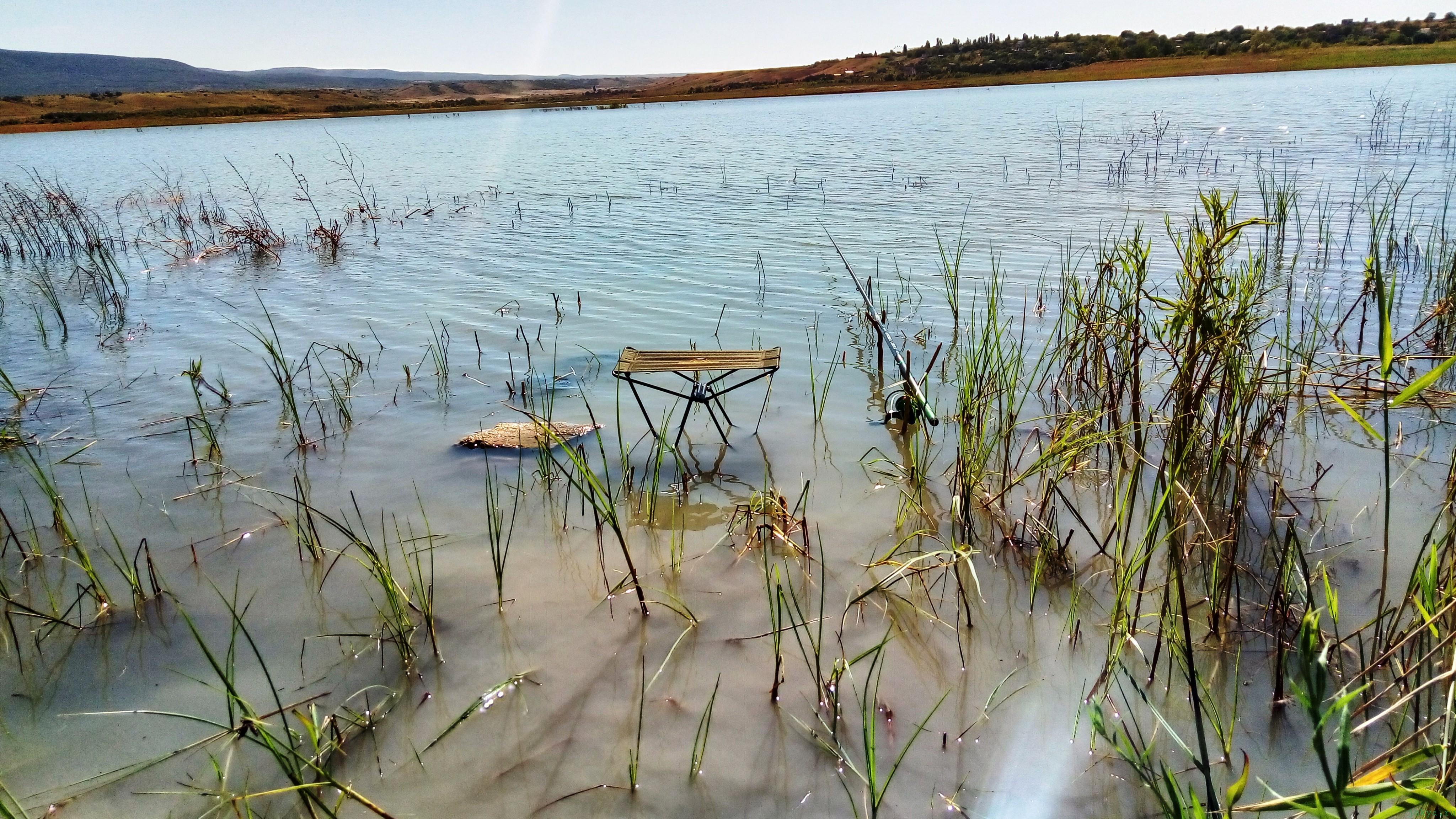 Ловля леща летом на удочку с берега рыбалка фото заметка из моей реальности в Крыму jokya.ru