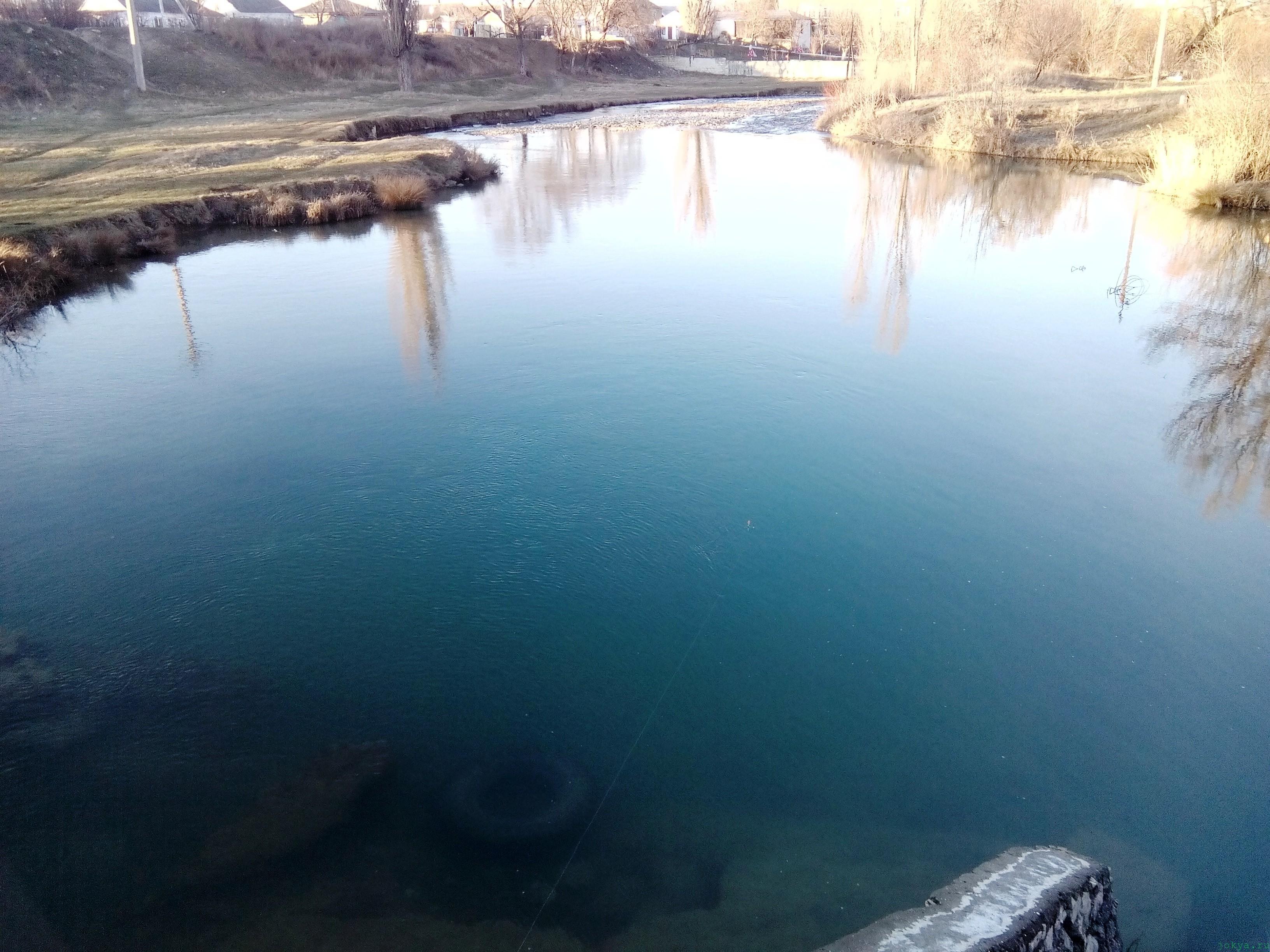 Ловля окуня на реке биюк-карасу фото заметка о Крыме jokya.ru