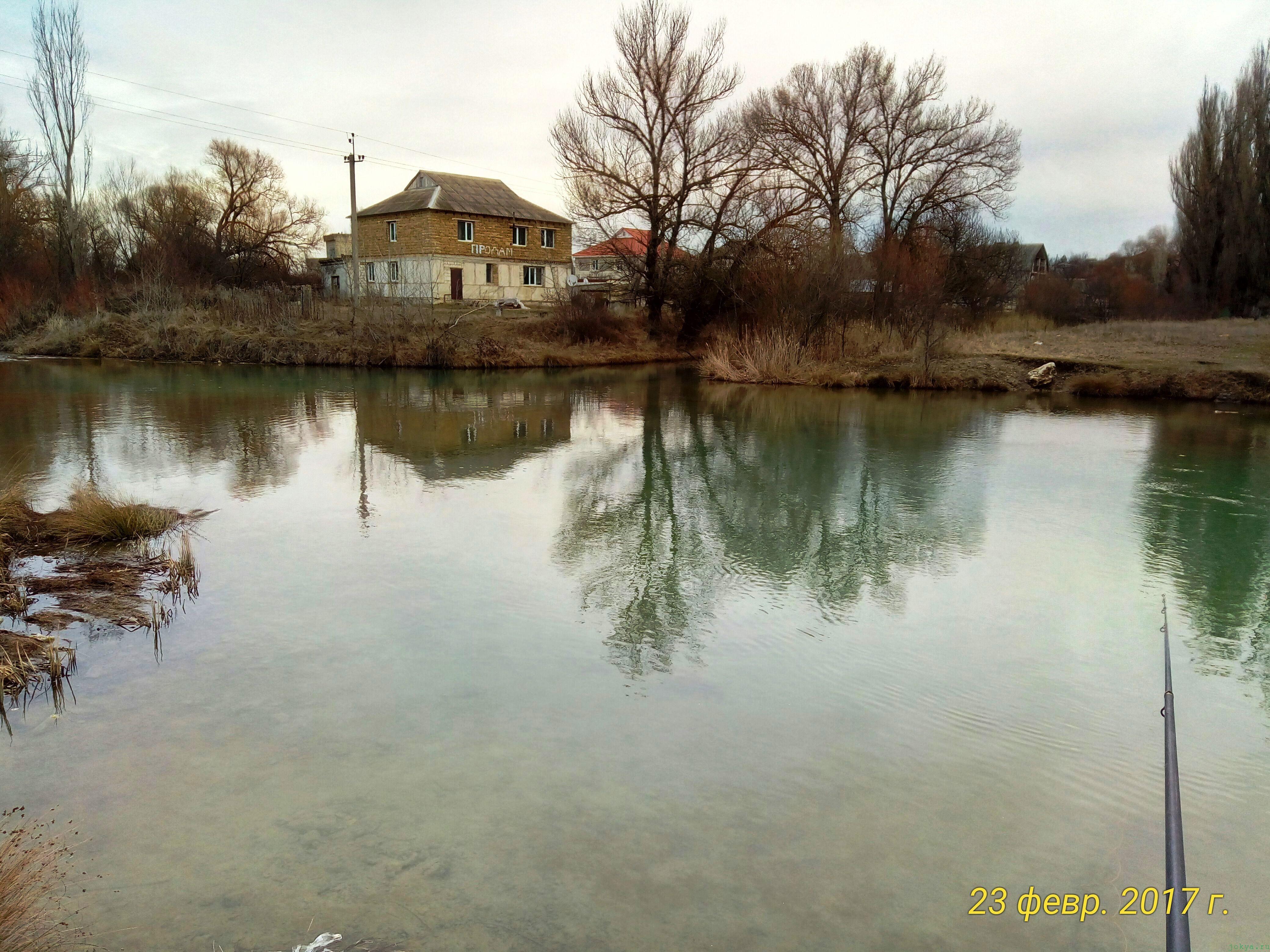 Ловля окуня в феврале при сильном ветре: фото заметка о моей реальности в Крыму jokya.ru