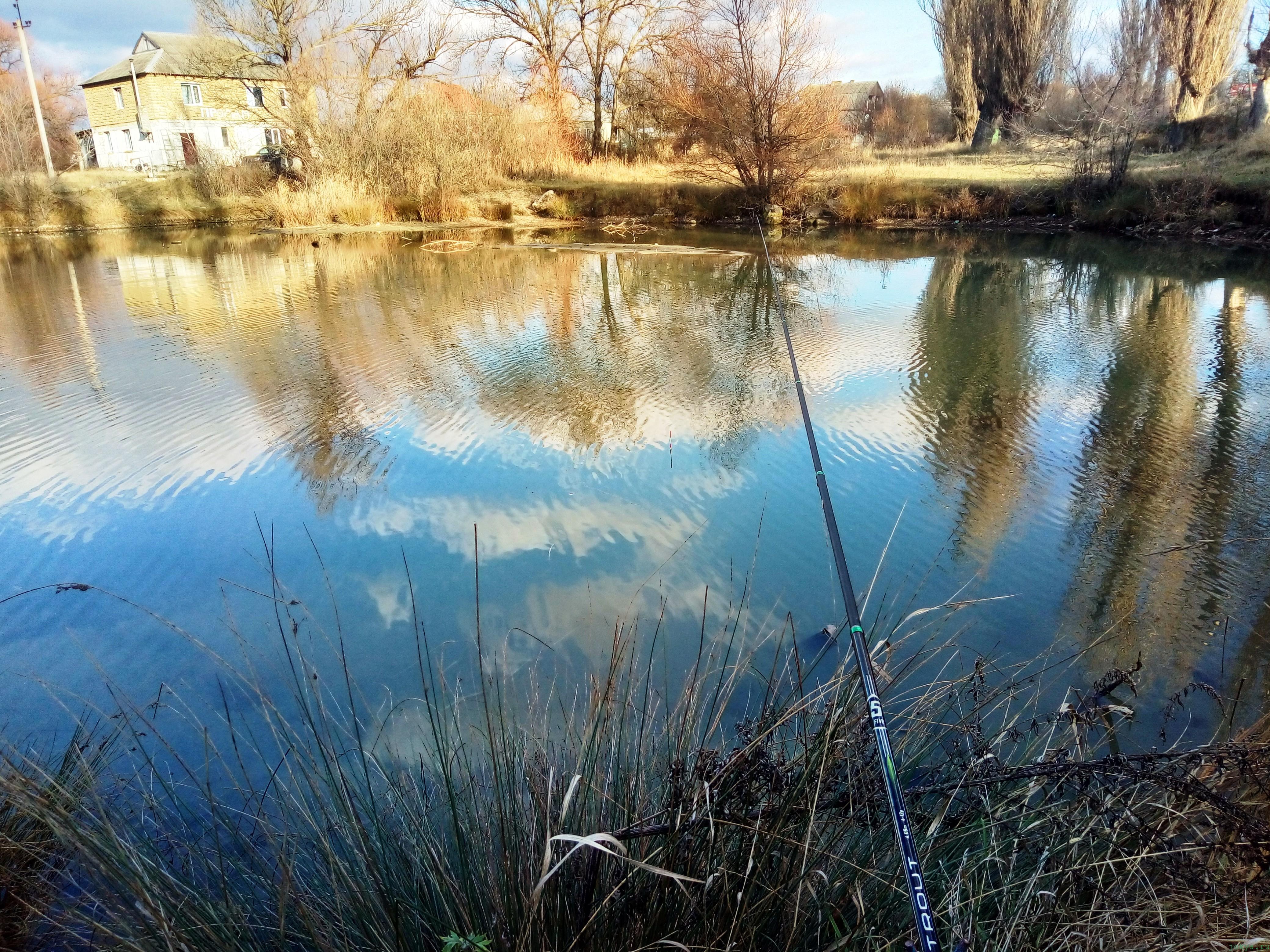 Ловля пескаря зимою в декабре фото заметка из моей реальности в Крыму jokya.ru
