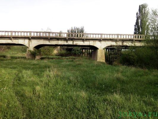 Река Танасу: фото заметка о трех мостах в Крыму jokya.ru