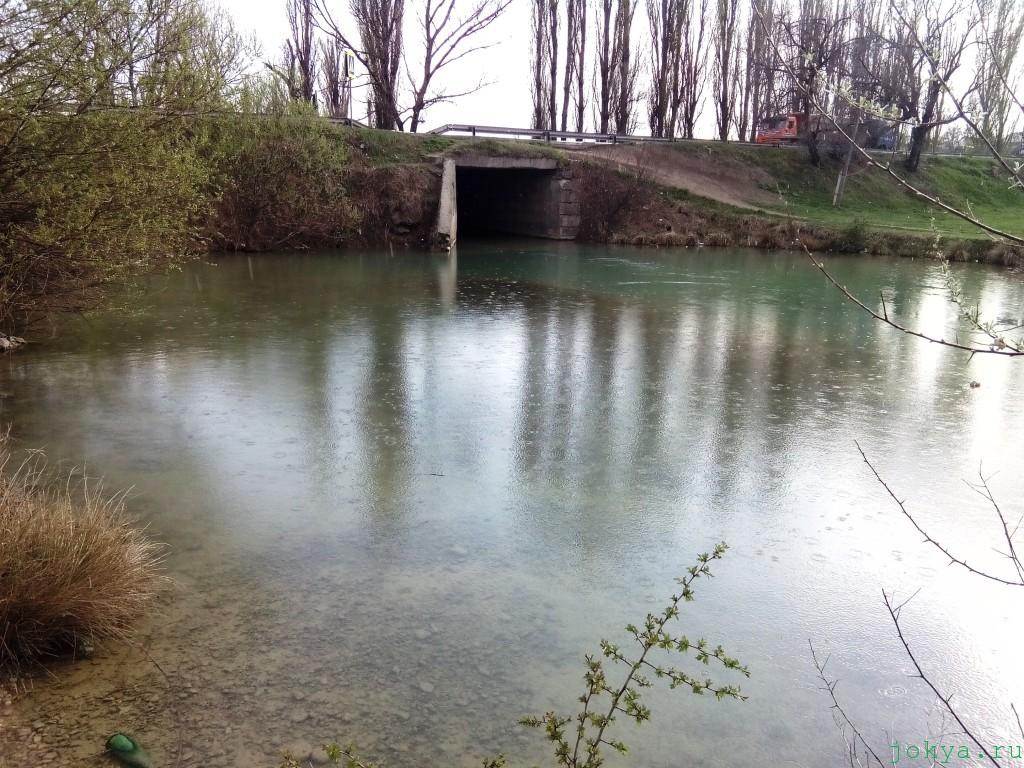 Река биюк карасу в апреле фото заметка о Крыме jokya.ru