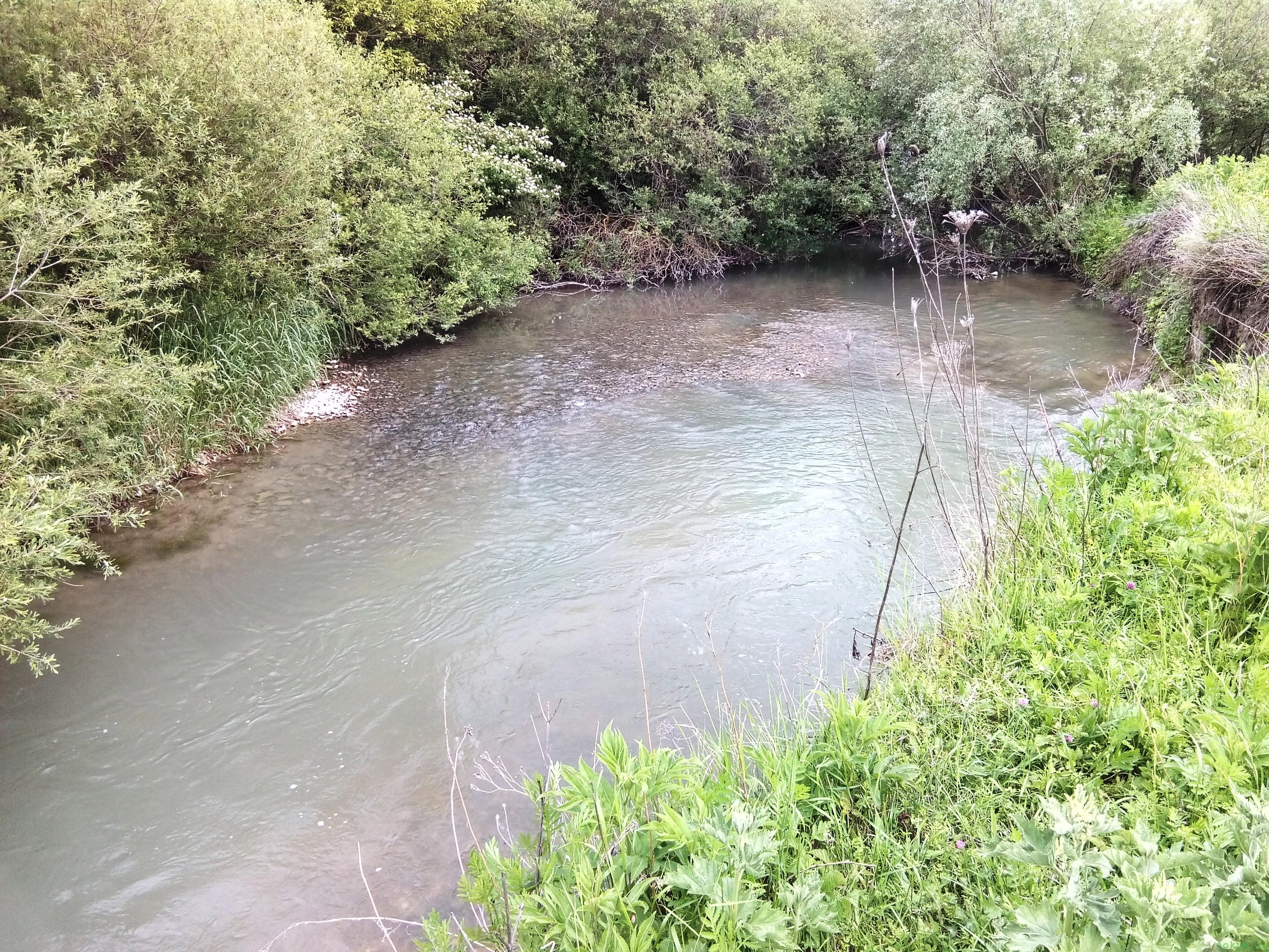 Рыбные места на речке биюк-карасу в Крыму фото заметка о Крыме jokya.ru