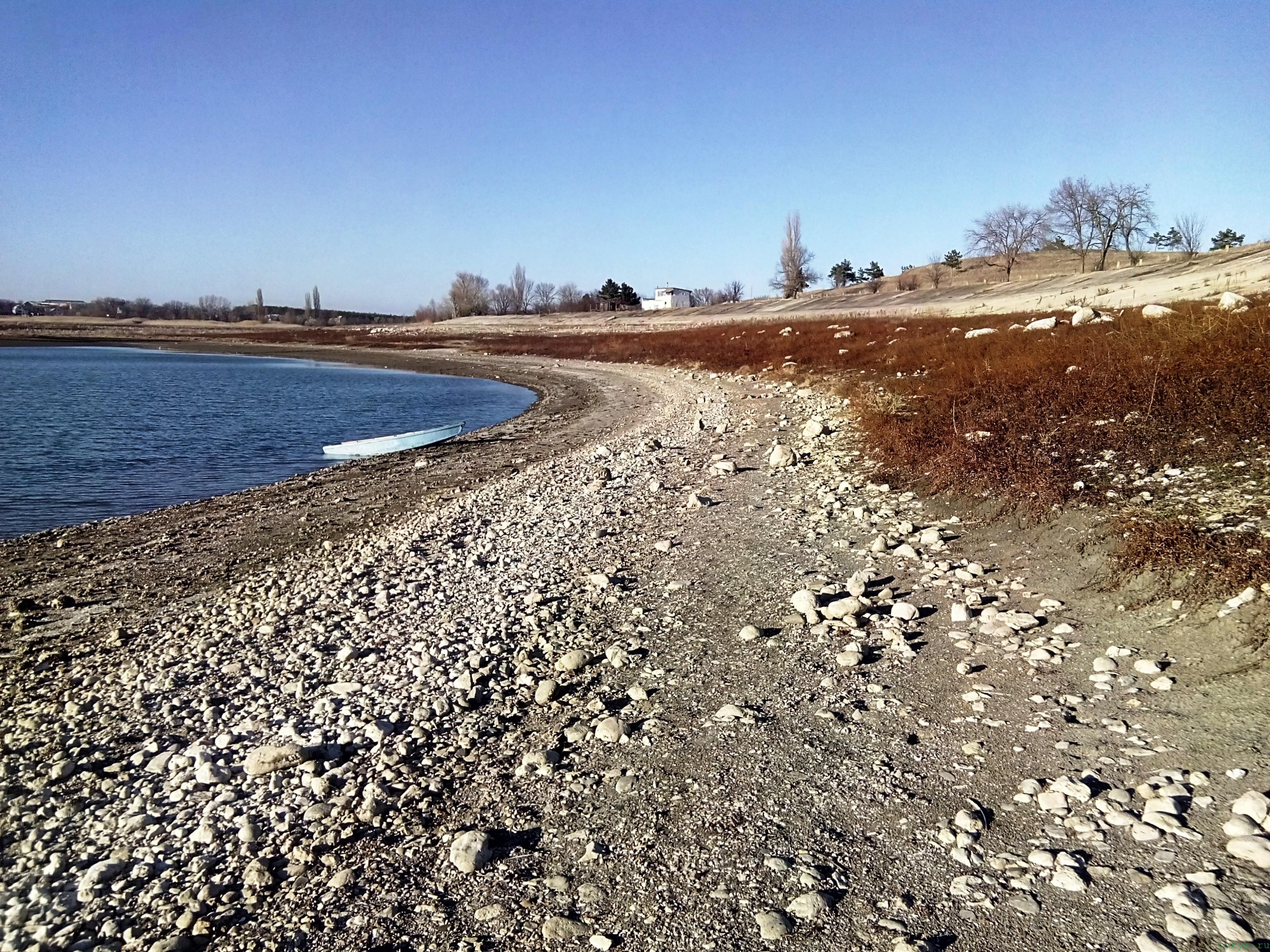 Тайганское водохранилище в ноябре 2016 фото заметка о реальности в Крыму jokya.ru