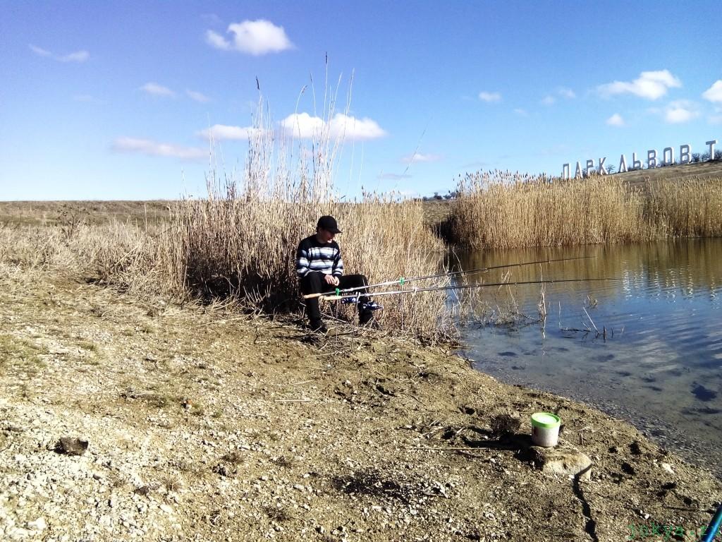 Travel: Белогорск, подсобный ставок, водоем Тайган фото заметка о Крыме jokya.ru