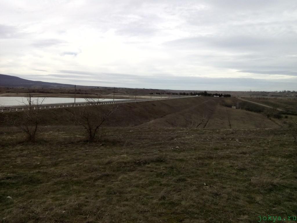 Travel по Белогорскому водохранилищу в зимний январь 17 2016 года фото сюжет jokya.ru