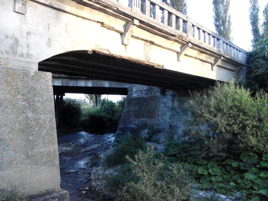 Три моста в Белогорске: речка Танасу фото от jokya.ru