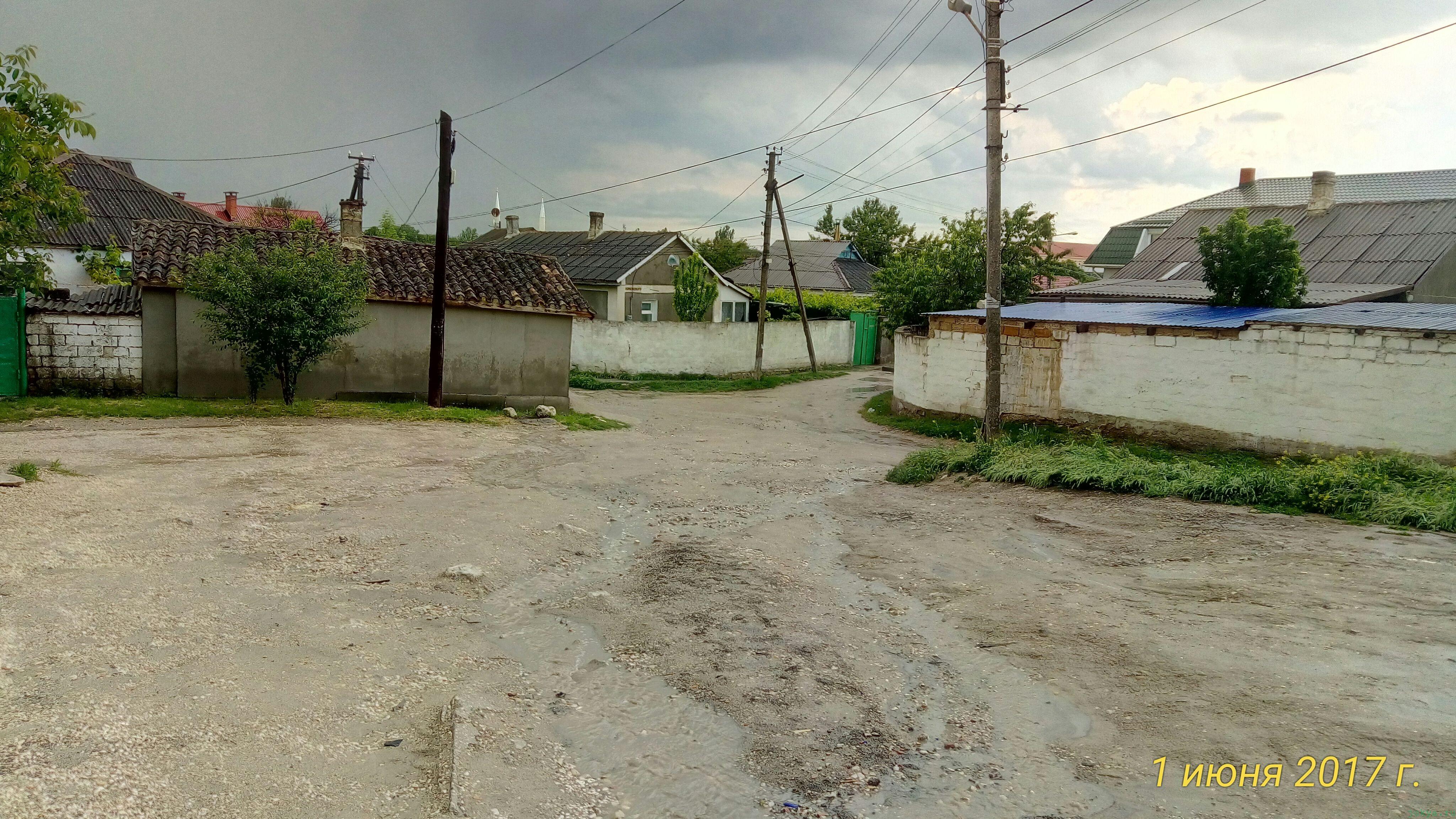 Уличная река фотографии из Белогорска фото заметка из моей реальности в Крыму