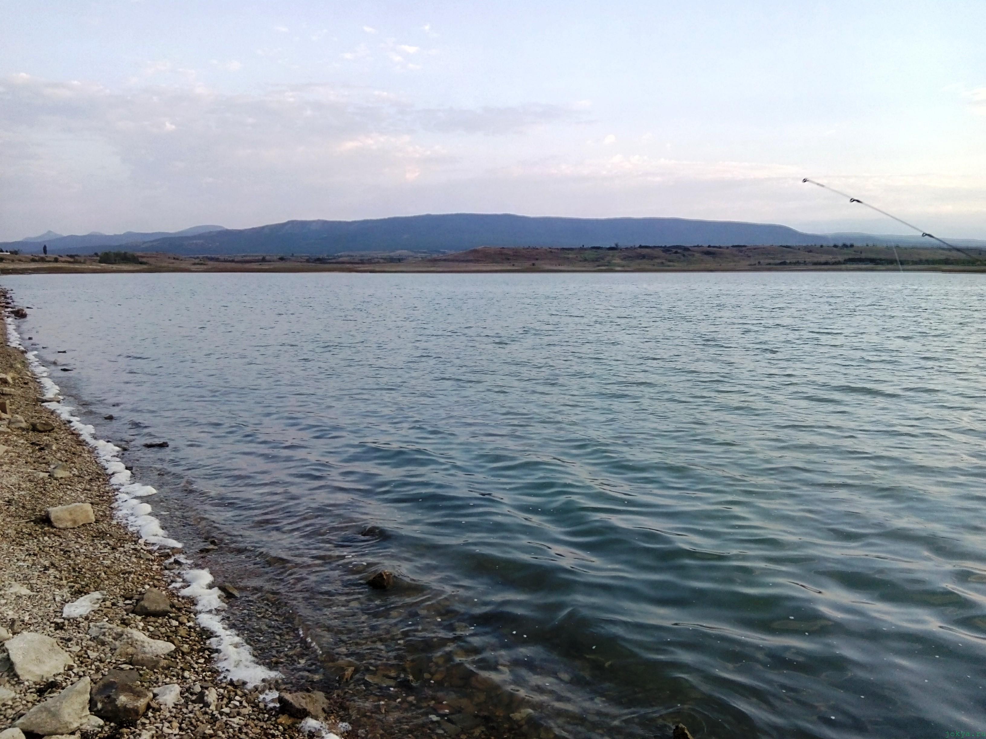 Вечером на Тайгане: прогулка под вечер на рыбалку фото заметка о Крыме jokya.ru
