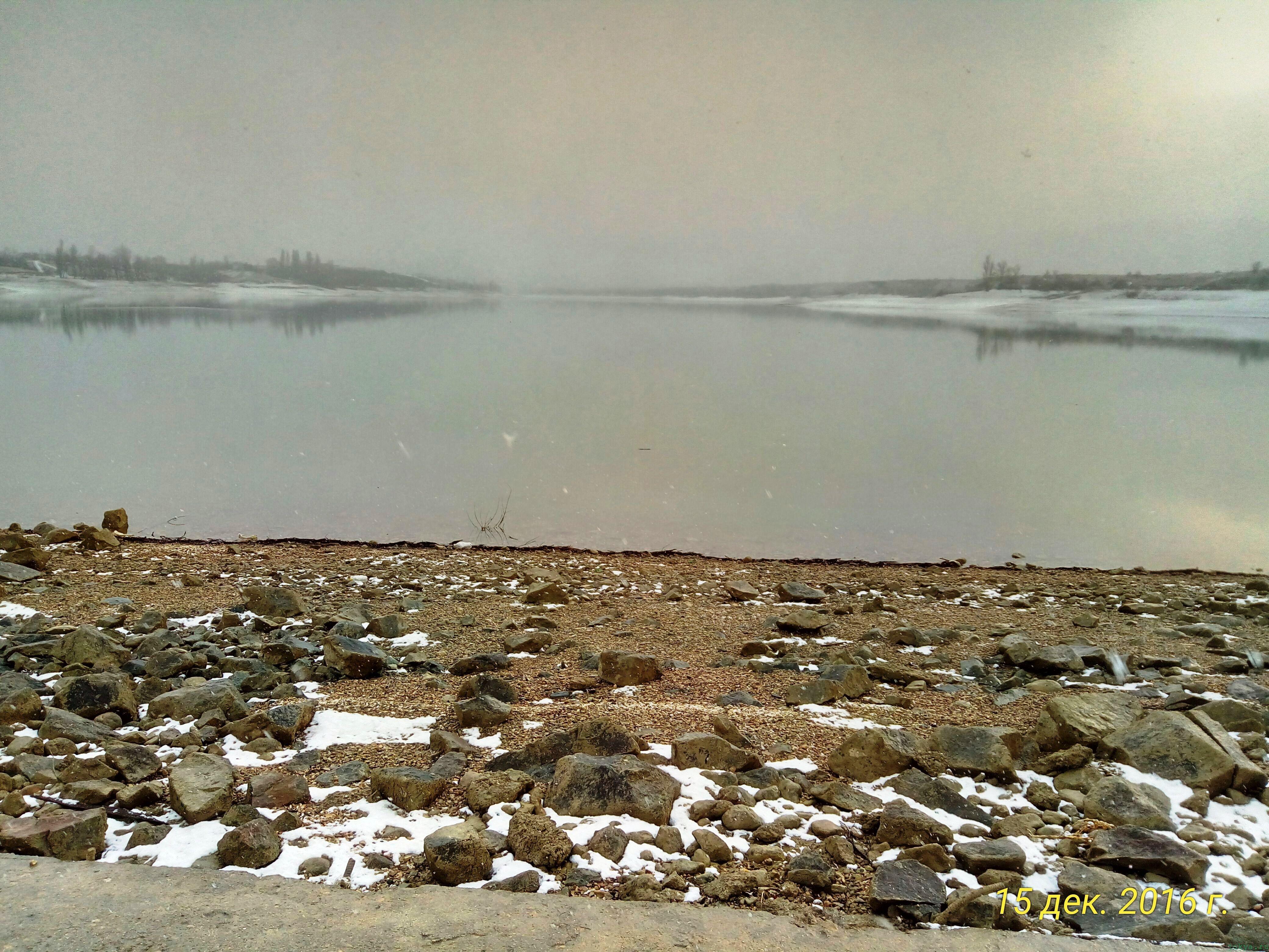Водохранилище на 15.12.2016 года фото заметка моей реальности в Крыму