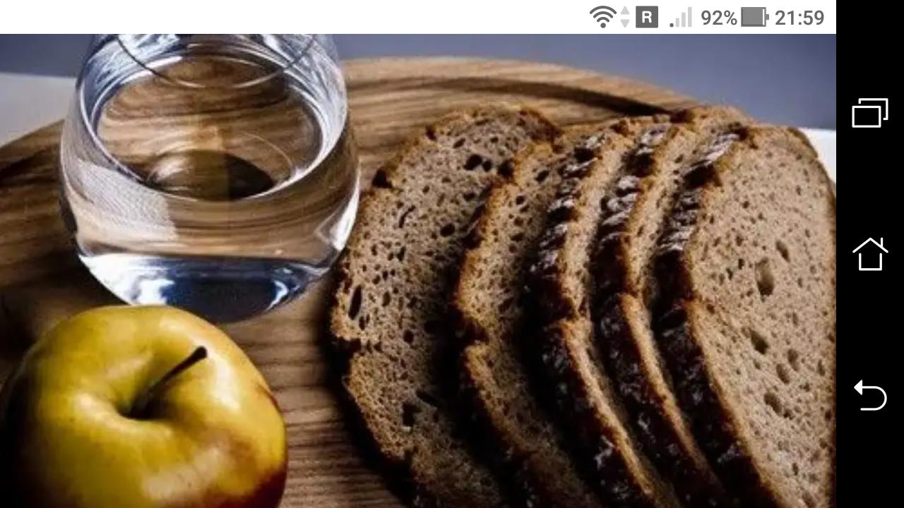 фото - jokya.ru - Таблица раздельного питания по дням в Великий пост 2021