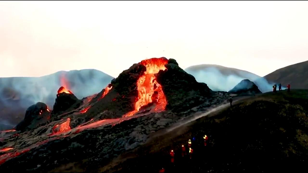 фото - jokya.ru - Извержение вулкана Фаградальсфьядль - новый формат Земли 2021 года