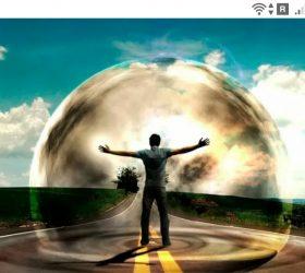 фото - Человека окружают сферы - https://jokya.ru/